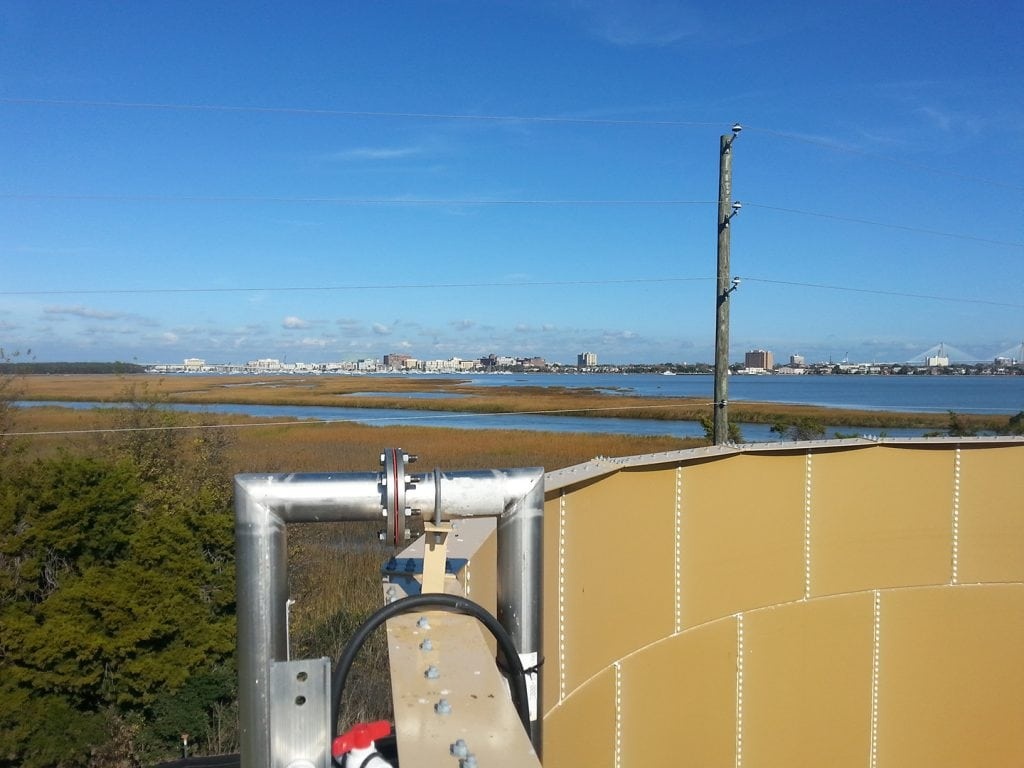 Plum Island WWTP Aeration Basin Diffuser, Sludge Tank, & Other Improvements - Project Gallery Image