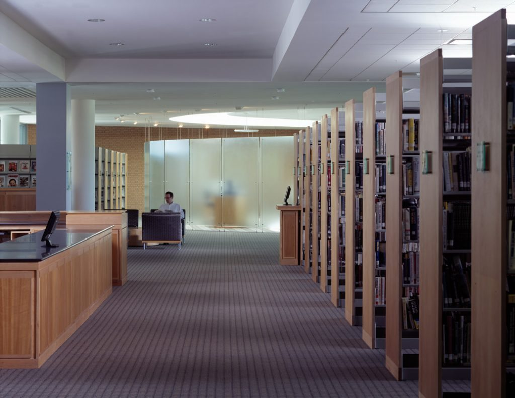 Hughes Library - Project Gallery Image