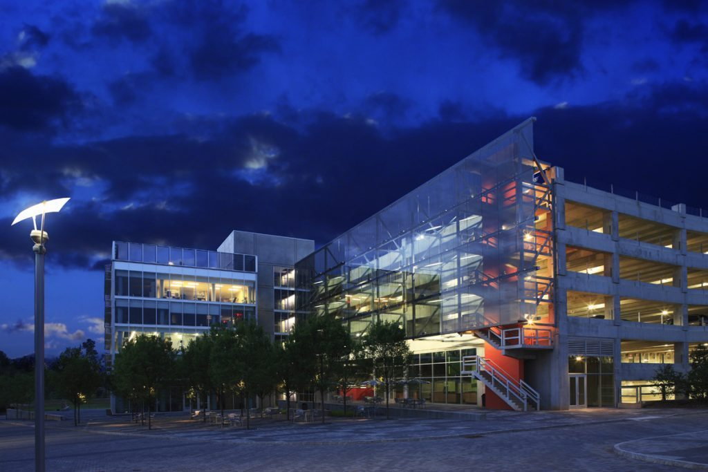 CU-ICAR Parking Structure - Project Gallery Image