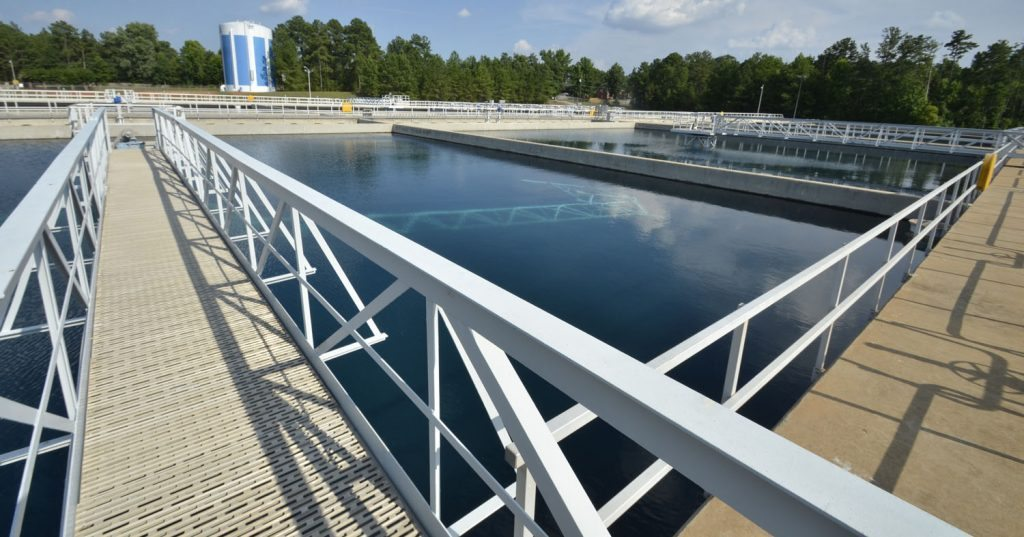 Lake Murray WTP Raw Water & Clean Water Pump Station Improvements - Project Gallery Image
