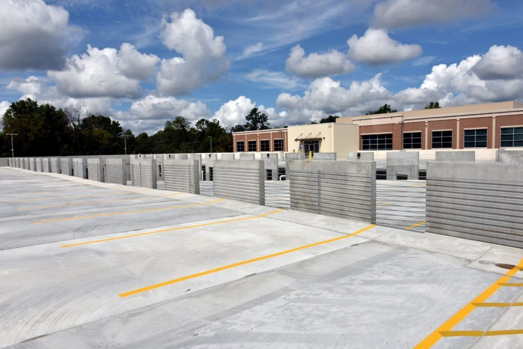 MEDAC Office Parking Garage - Project Gallery Image