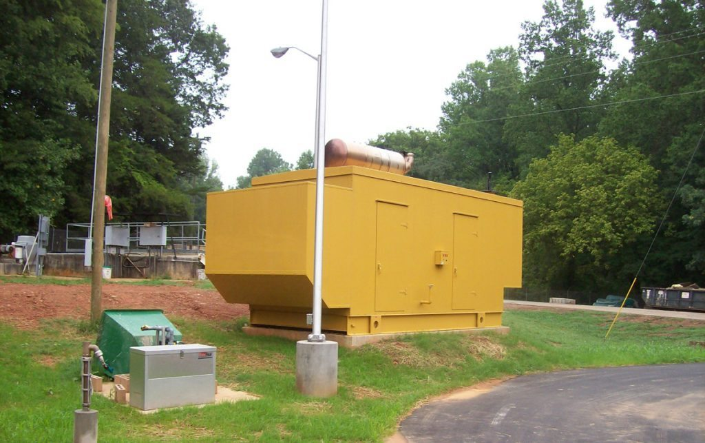 Grove Creek Pump Station - Project Gallery Image