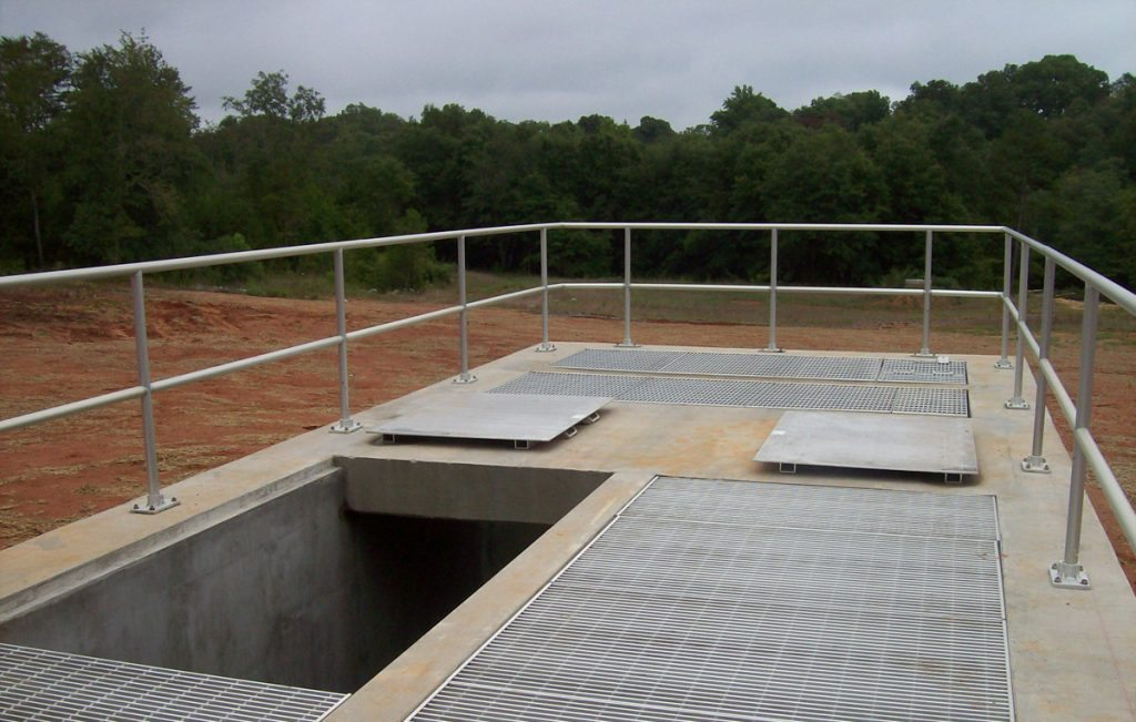 Grove Creek WWTP Effluent Pump Station - Project Gallery Image