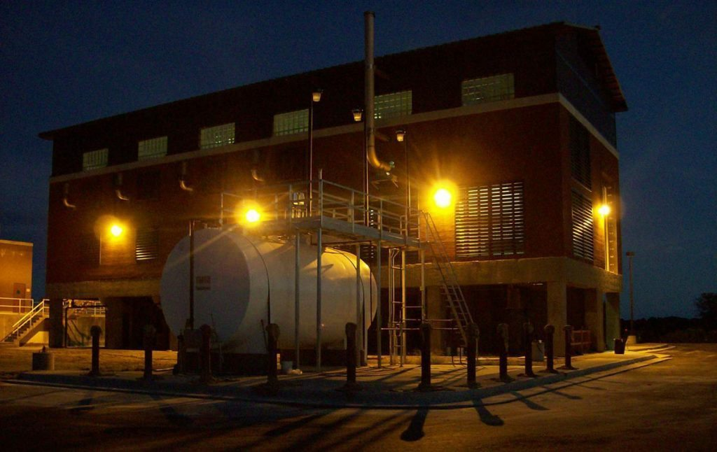Plum Island Wastewater Treatment Plant Aeration Basin Diffuser, Sludge Tank, & Other Improvements - Project Gallery Image