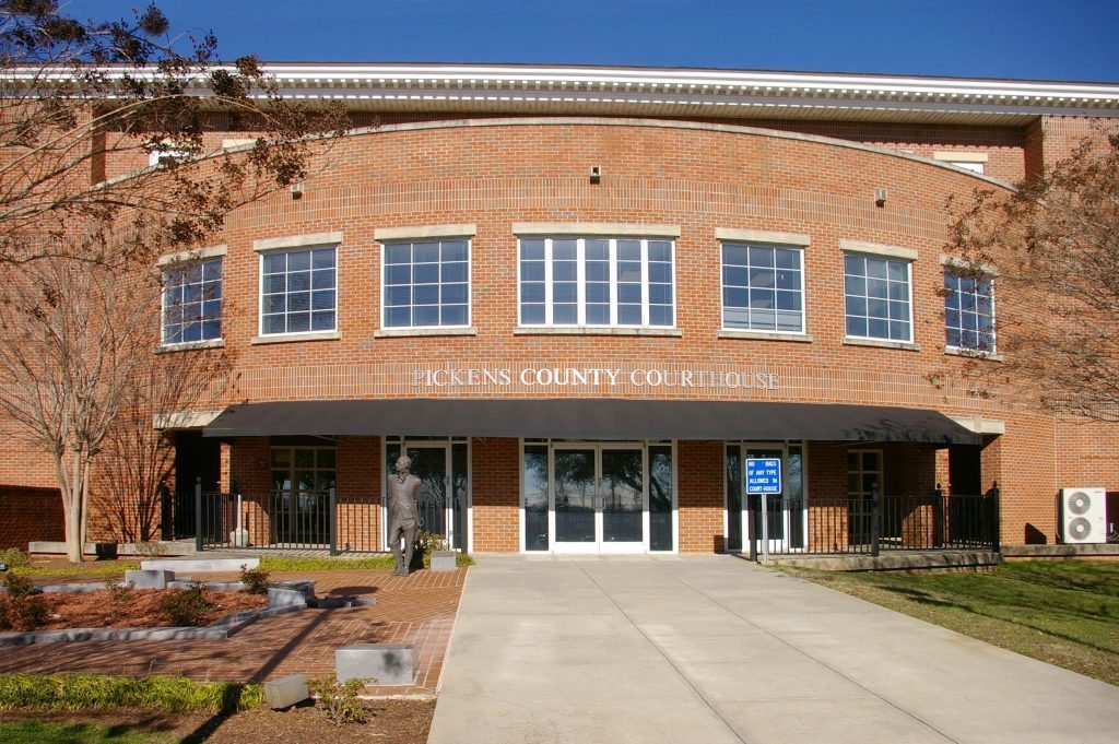 Pickens County Courthouse - Project Gallery Image