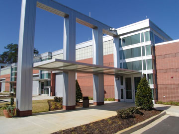 Midlands Technical College Accelerator Building