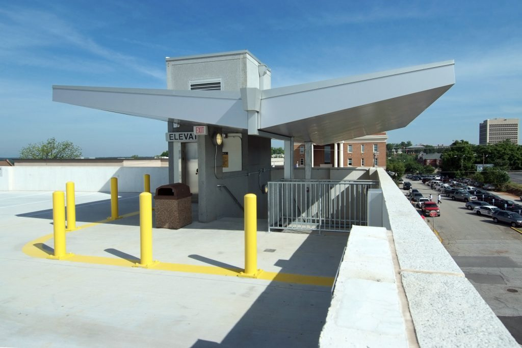 Lincoln Street Parking Garage - Project Gallery Image