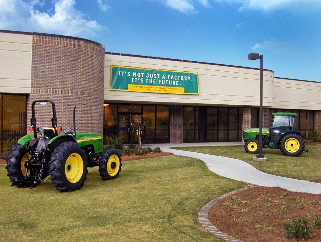John Deere Tractor Assembly Plant - Project Gallery Image