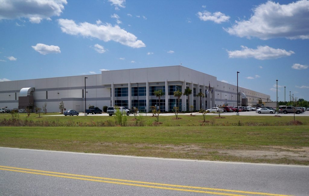 Johnson Controls Battery Charging & Distribution Facility - Project Gallery Image