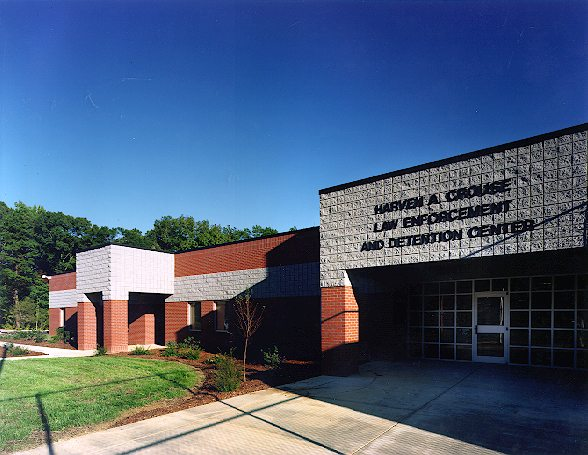 Harven A. Crouse Law Enforcement & Detention Center - Project Gallery Image
