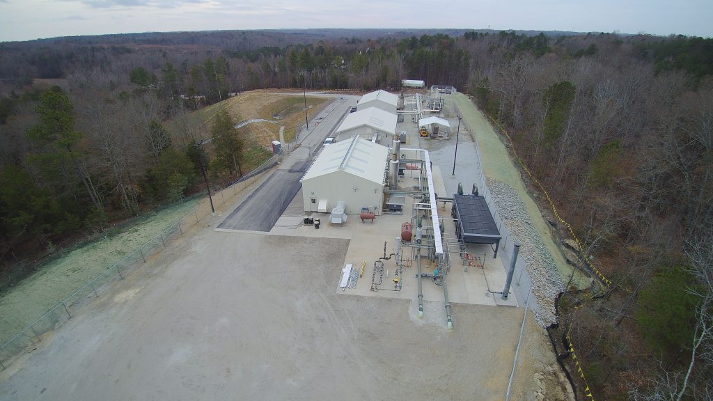 Moore Compressor Station - Project Gallery Image