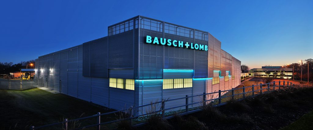 Bausch + Lomb Line 8 Facility Expansion - Project Gallery Image