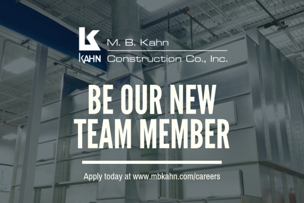 Come Work with M. B. Kahn