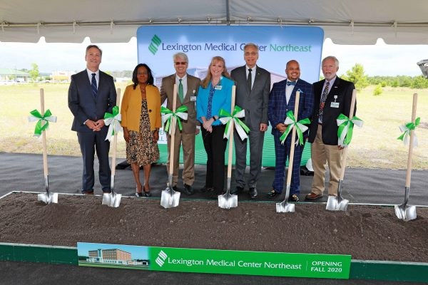 Lexington Medical Center Groundbreaking