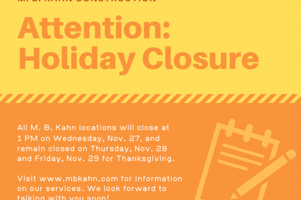 Holiday Closure Alert