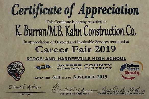 Jasper County Career Fair