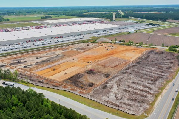 Inland Port Sitework Moves Ahead