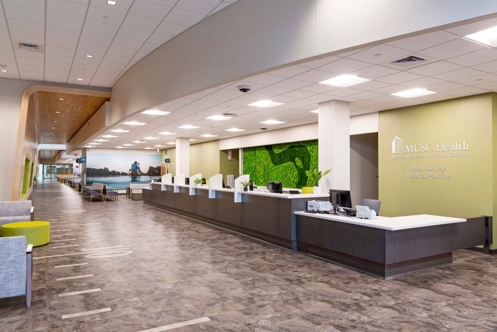 MUSC Health West Ashley Medical Pavilion - Project Gallery Image