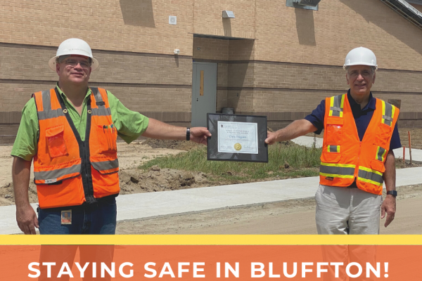 River Ridge Academy Crew Wins Safety Award