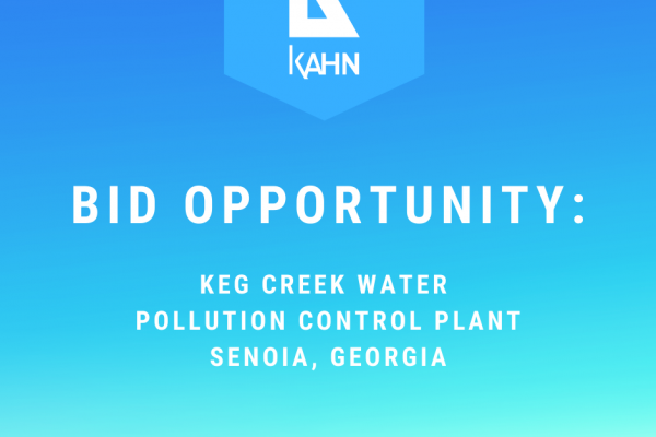 Invitation to Bid – Keg Creek Water Pollution Control Plant