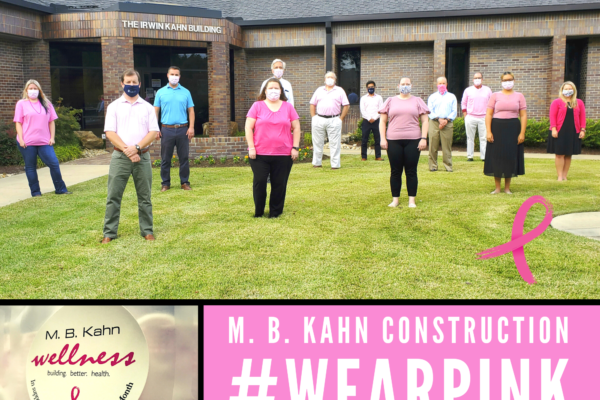 M. B. Kahn Raises Breast Cancer Awareness