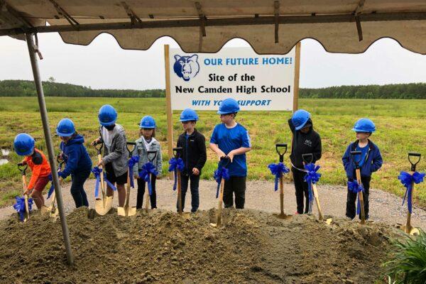 Camden High School Groundbreaking