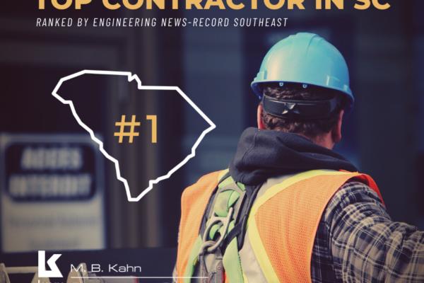 M. B. Kahn is #1 Contractor in SC