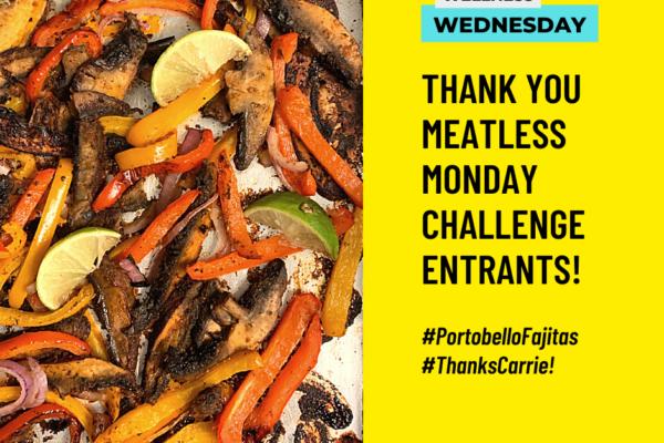 Meatless Monday Challenge Winners