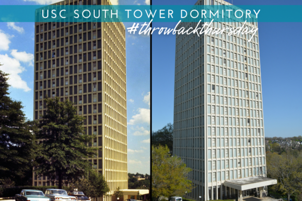 Wayback Time: USC South Tower Dorm