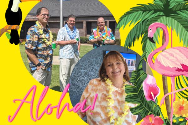 Aloha Friday at M. B. Kahn