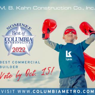 M. B. Kahn Best of Columbia 2022