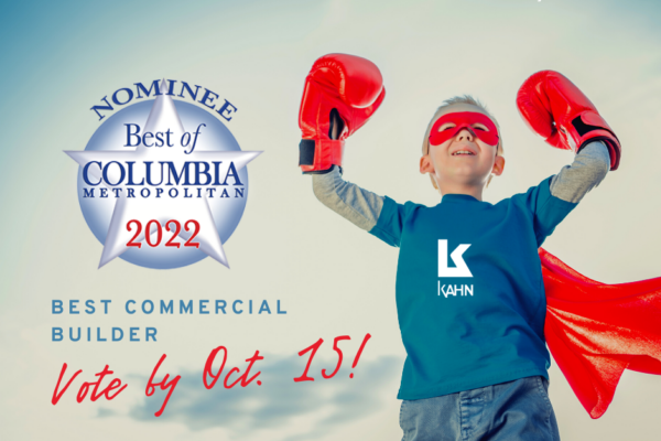 Vote for M. B. Kahn! Best of Columbia